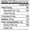 Bluesberry granola nutrition facts (2 oz snack pack)
