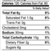 Creative Cranberry granola nutrition facts (2 oz snack pack)