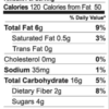 Forest Maple granola nutrition facts (2 oz snack pack)