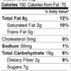 Truly Tropical granola nutrition facts (2 oz snack pack)