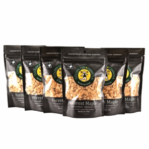Forest Maple granola snack packs with pour in pouch