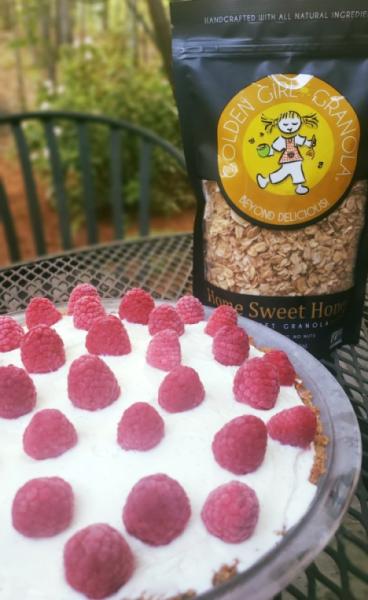 Ice Cream Granola Pie and Home Sweet Honey granola