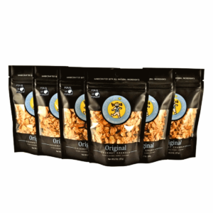 Original granola snack packs with pour in pouch