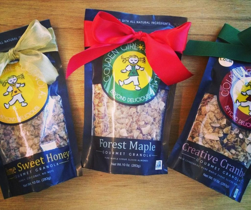 Golden Girl Granola Holiday Bags Image