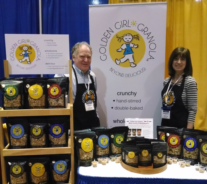Golden Girl Granola Show Display