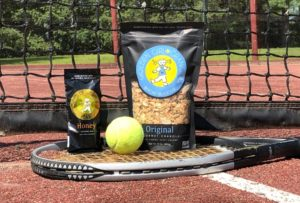 Tennis and Golden Girl Granola