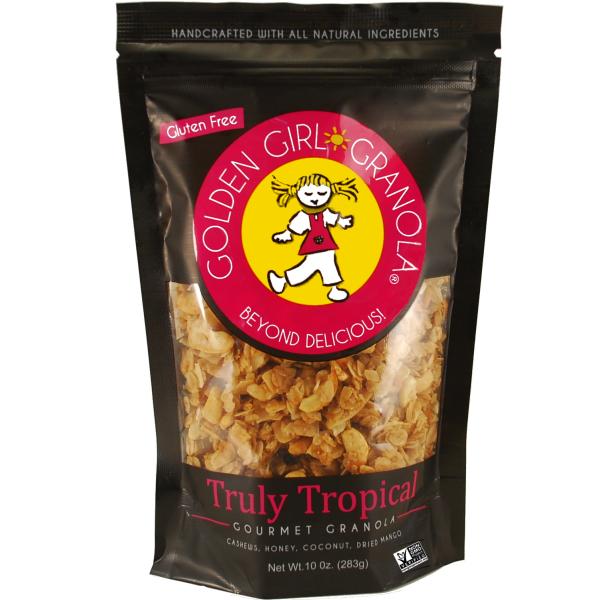 Truly Tropical granola (10 oz bag)