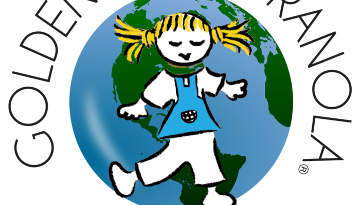 Earth Day Golden Girl Granola Logo