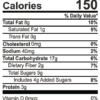 Pumpkin Harvest granola nutrition facts (9 oz Bag)