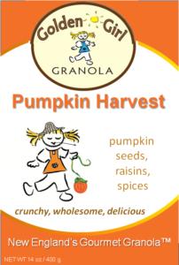 Original Pumpkin Harvest label